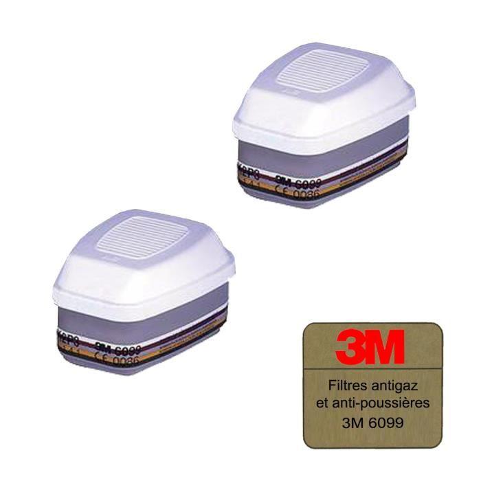 filtres antigaz et anti poussi res 3m 6099 abek2p3r x 2. Black Bedroom Furniture Sets. Home Design Ideas