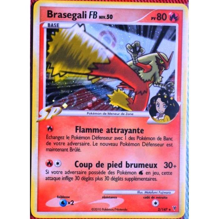 Carte Pokemon Mega Brasegali