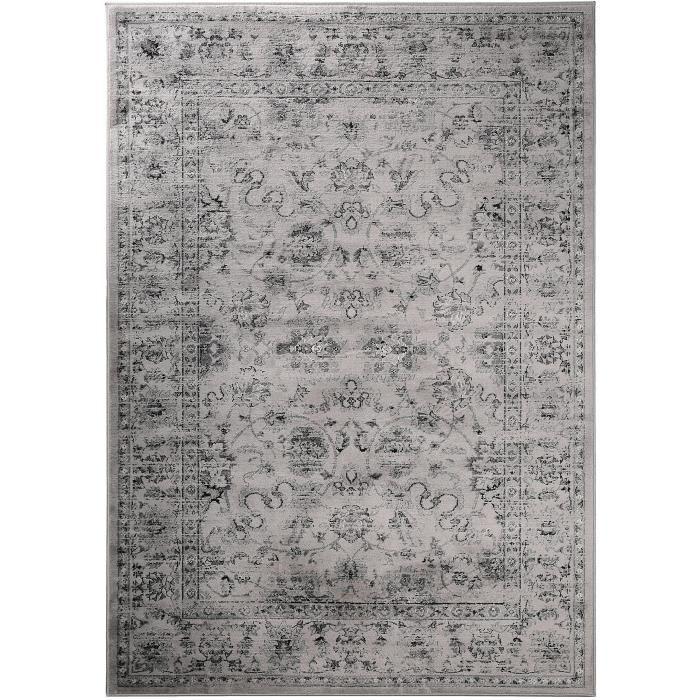 benuta tapis orient vintage flowers gris 80x150 cm achat vente tapis cdiscount. Black Bedroom Furniture Sets. Home Design Ideas