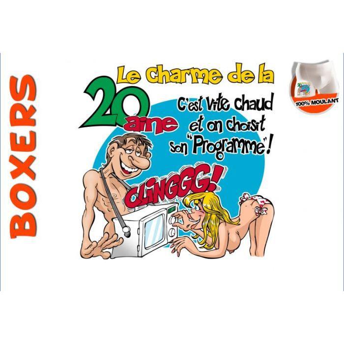 Boxer charmes des 20 ans achat vente accessoire for 20 images