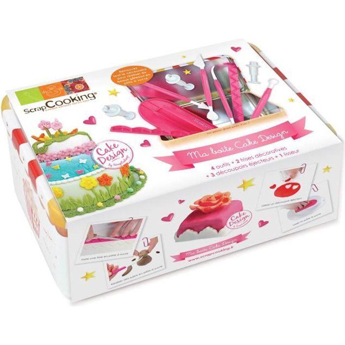 coffret outils cake design scrapcooking achat vente ensemble p tisserie coffret outils. Black Bedroom Furniture Sets. Home Design Ideas