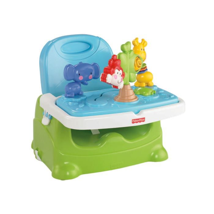 Fisher price si ge r hausseur d couvertes bleu et vert for Chaise haute fisher price