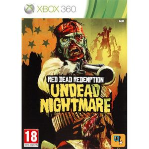 JEUX XBOX 360 Red Dead Redemption Undead Nightmare XBOX 360