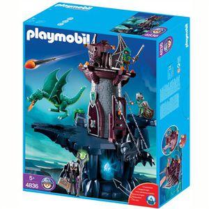 UNIVERS MINIATURE Playmobil Donjon du Dragon Vert