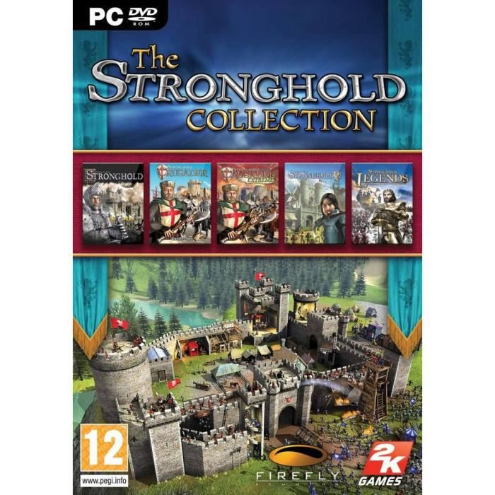 JEUX PC THE STRONGHOLD COLLECTION / jeu PC DVD-ROM