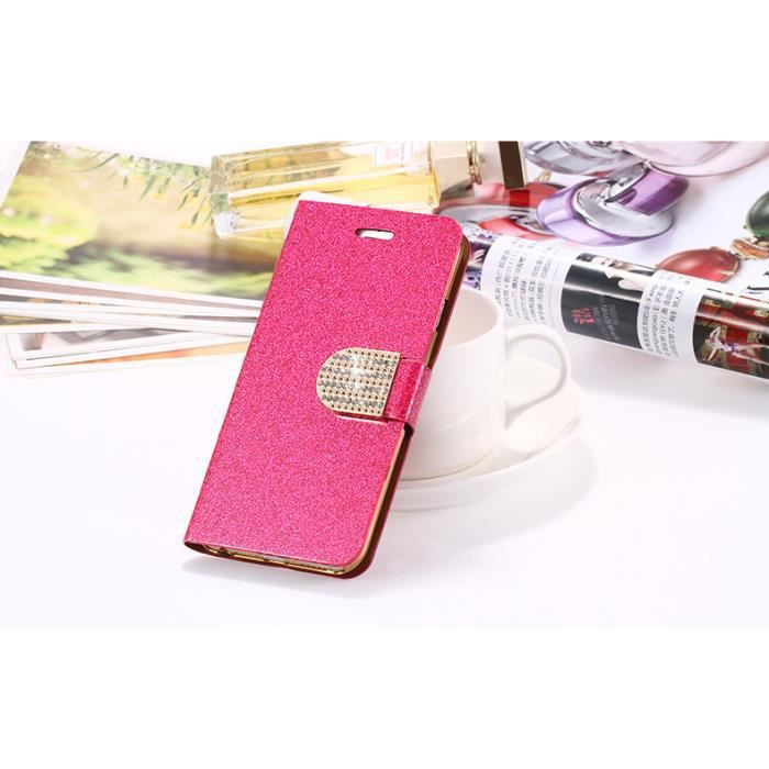Luxe luire housse coque iphone 6 6s plus rose achat for Housse iphone 6 luxe