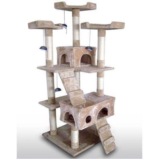 arbre chat griffoir grattoir geant jouet animaux achat vente arbre chat arbre chat. Black Bedroom Furniture Sets. Home Design Ideas