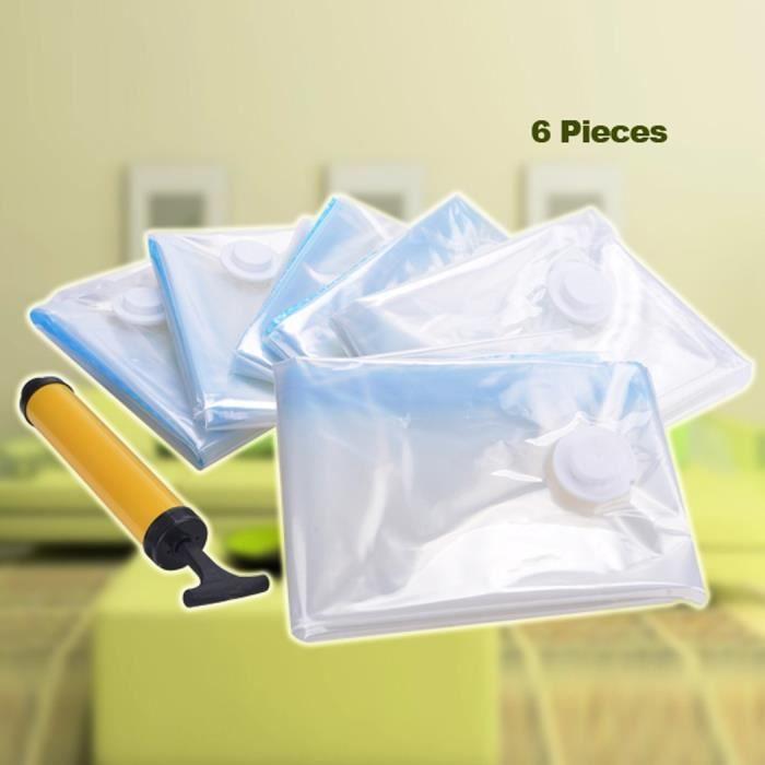 sacs sous vide sacs de rangement joint herm tique comprim organisateur rangement sous vide sac. Black Bedroom Furniture Sets. Home Design Ideas