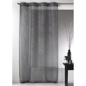rideau paillette achat vente rideau paillette pas cher cdiscount. Black Bedroom Furniture Sets. Home Design Ideas