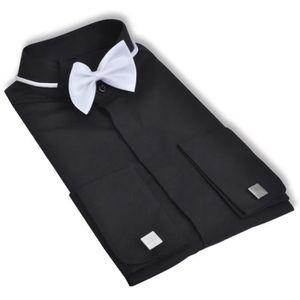 chemise homme avec boutons de manchette achat vente. Black Bedroom Furniture Sets. Home Design Ideas