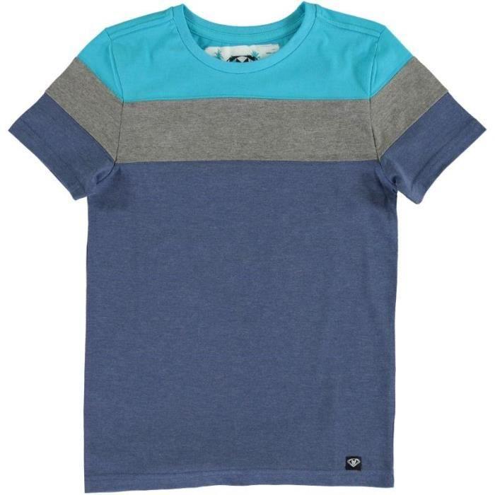 Triplix t shirt enfant gar on marine gris et turquoise achat vente d bardeur cdiscount for Accessoires garcons turquoise et gris