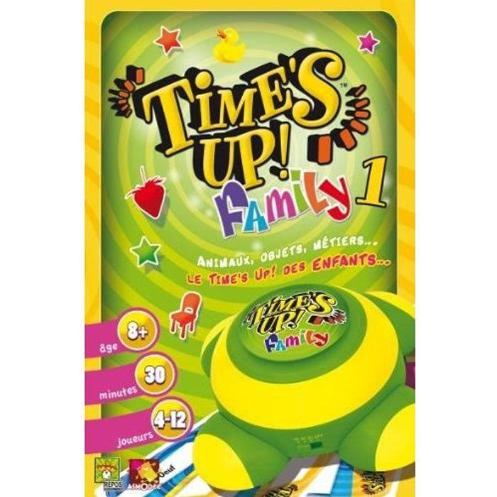 time 39 s up asmodee family buzzer achat vente jeu soci t plateau time 39 s up family