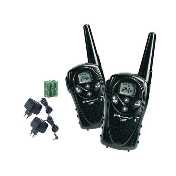 paire talkie walkie midland g5xt jeu pmr446 achat talkie walkie pas cher avis et meilleur. Black Bedroom Furniture Sets. Home Design Ideas