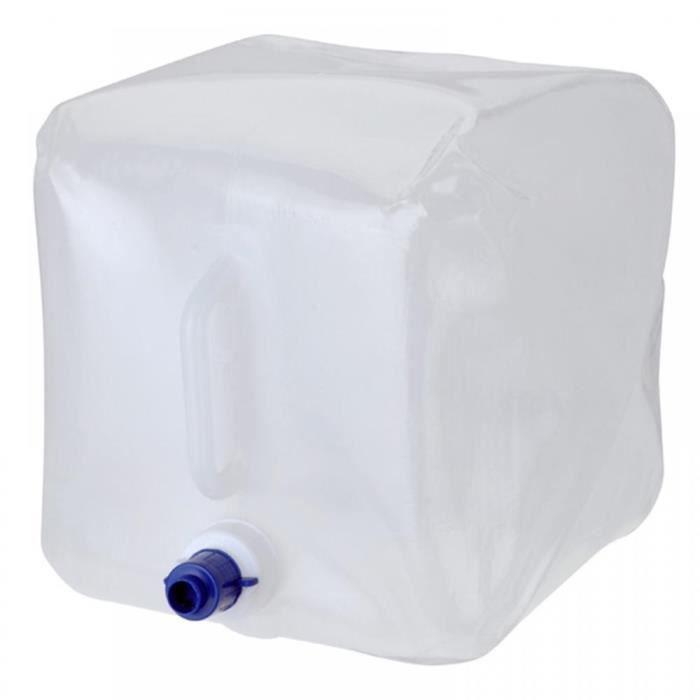 vache eau souple r servoir eau potable pliable 14 litres camping 4x4 bateau prix pas cher. Black Bedroom Furniture Sets. Home Design Ideas