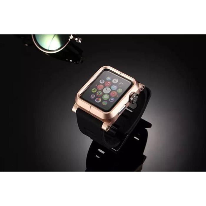 coque apple watch 38mm lunatik or achat accessoires montres co pas cher avis et meilleur. Black Bedroom Furniture Sets. Home Design Ideas