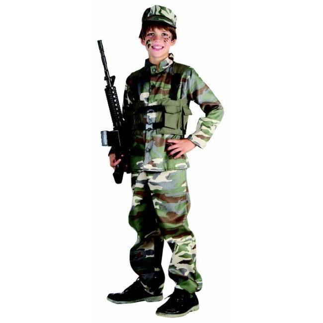 d guisement de militaire pour gar on 10 12 ans achat. Black Bedroom Furniture Sets. Home Design Ideas