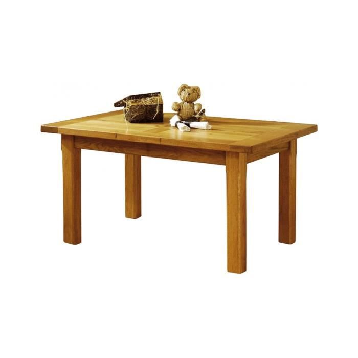 Table de campagne rectangulaire ch ne l130 achat vente table a manger seu - Table style campagne ...