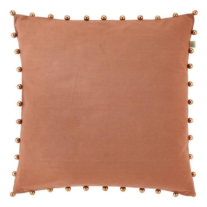 housse de coussin tota 45x45 cm cuivre achat vente housse de coussin cdiscount. Black Bedroom Furniture Sets. Home Design Ideas