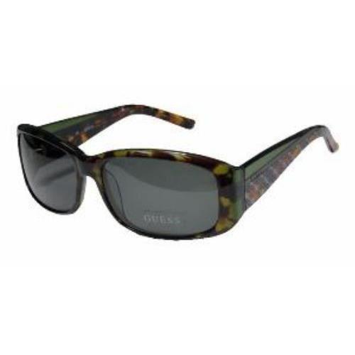 lunettes de soleil guess neuves femme 6456 togrn marron vert achat vente lunettes de soleil. Black Bedroom Furniture Sets. Home Design Ideas