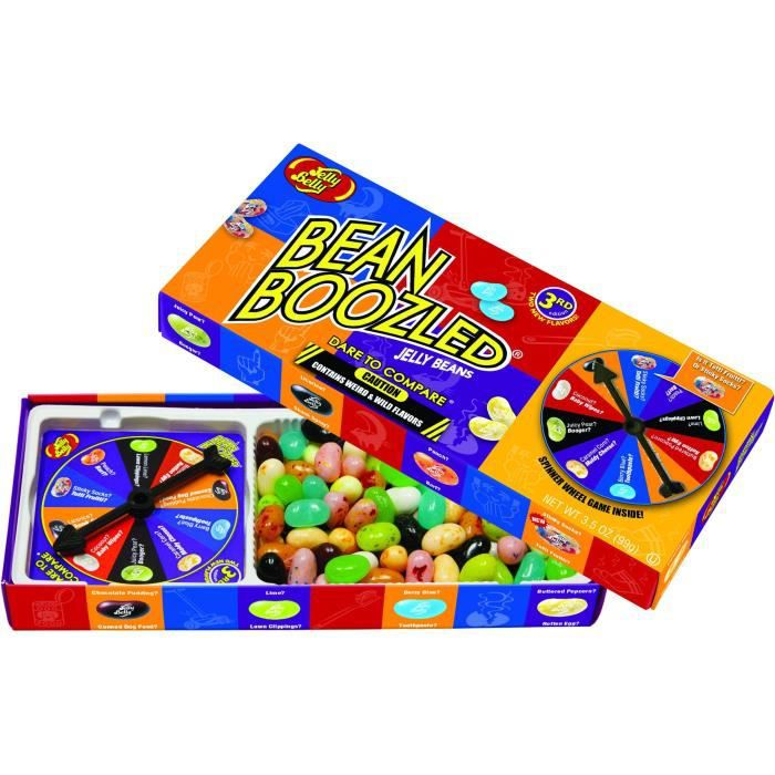 jeu avec bonbons go t surprenants jelly belly bean boozled spinner box achat vente. Black Bedroom Furniture Sets. Home Design Ideas