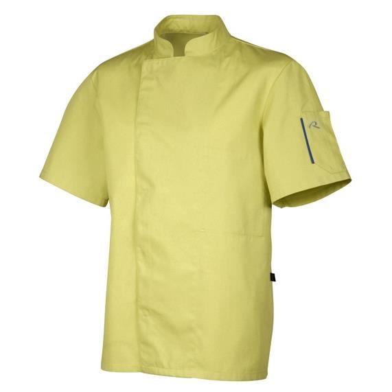 Veste de cuisine fashion turquoise achat vente veste for Achat veste de cuisine