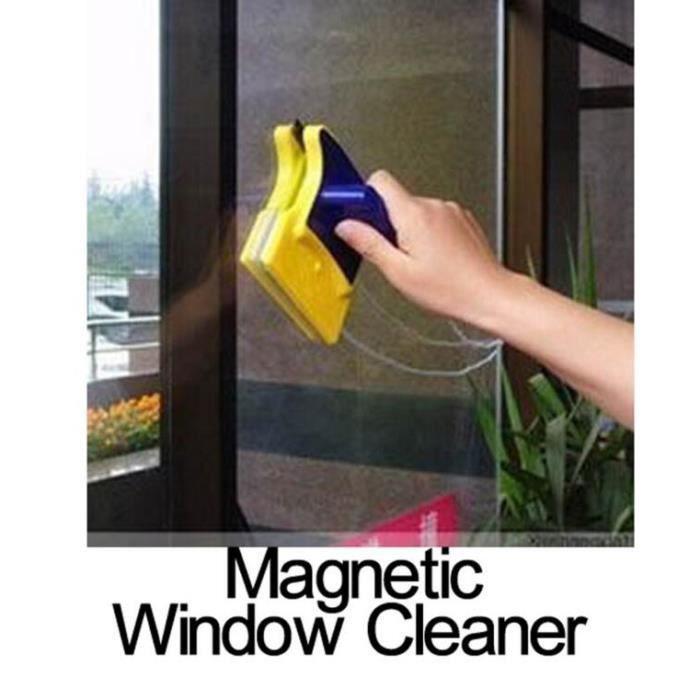 2pc nettoyage des vitres brosse double face magn tique. Black Bedroom Furniture Sets. Home Design Ideas