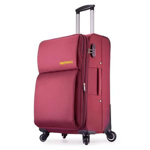 VALISE - BAGAGE Bagage cabine Valise Souple 4 Roues Taille S 56cm