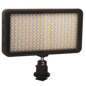 PACK ACCESS. CAMESCOPE 228 lampe vidéo LED panneau de la lampe Dimmable 2