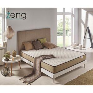 matelas 120x180 m moire visco bambou confort premium achat vente matelas les soldes sur. Black Bedroom Furniture Sets. Home Design Ideas
