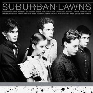 VINYLE HARD ROCK Suburban lawns/vinyle argent by Suburban Lawns (Vi