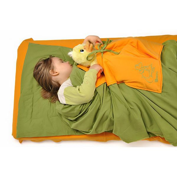 Parure de lit b b enfant 3 pi ces avec poche d vert for Parure lit bebe x