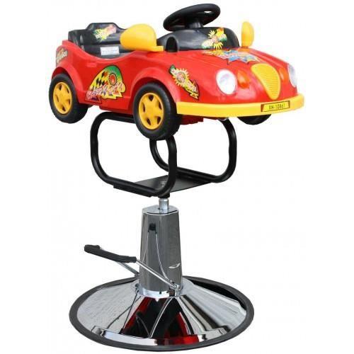 Fauteuil coiffure enfants voiture rouge achat vente for Chaise enfant voiture