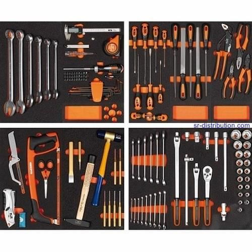Module composition 128 outils bahco achat vente pack - Liste outils bricolage ...