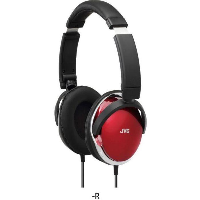 jvc ha s660 r e casque circum aural rouge casque couteur audio avis et prix pas cher. Black Bedroom Furniture Sets. Home Design Ideas