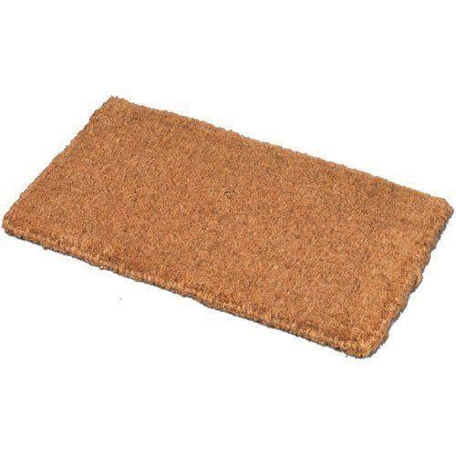 jvl tapis d 39 entr e fibre de coco 100 naturel 40 x 68 cm achat vente tapis d 39 entr e cdiscount. Black Bedroom Furniture Sets. Home Design Ideas