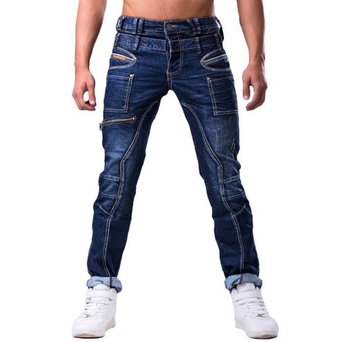 Jeans mode homme jeans jnst1002 bleu achat vente jeans cadeaux de no l cdiscount - Jean mode homme ...