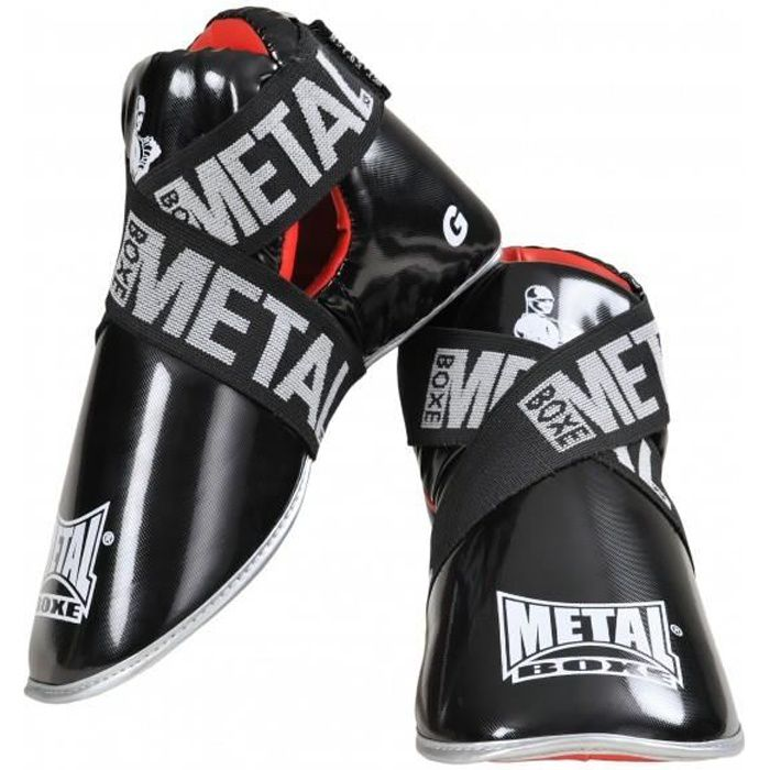 Prot ge pied chausson de full contact l ger m tal boxe for Telephone leger