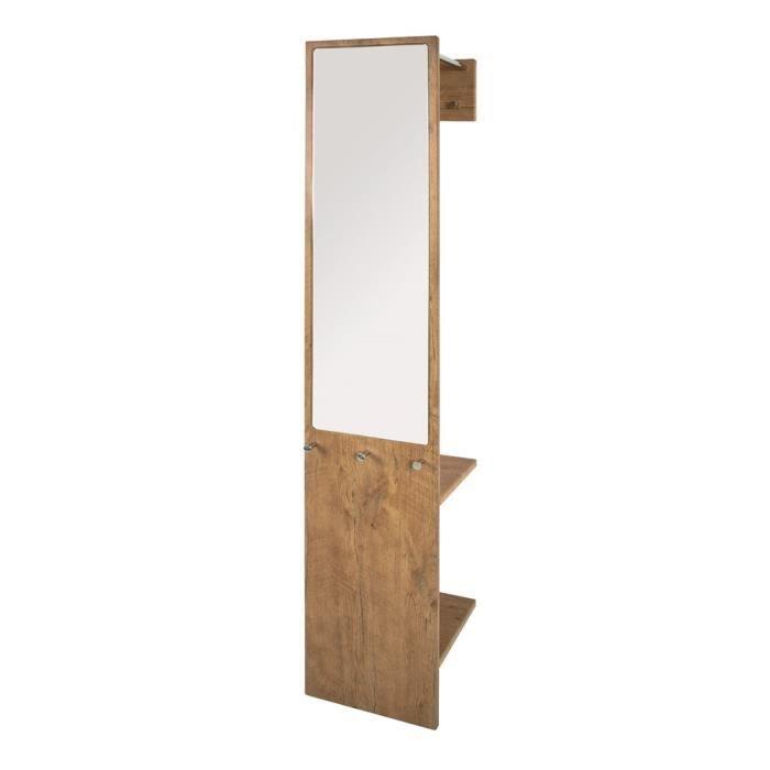 porte manteaux mural karla ch ne achat vente porte manteau cdiscount. Black Bedroom Furniture Sets. Home Design Ideas