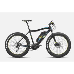 MONTANA Vélo Electrique E-VTT Fat 26 Acera 9 Vitesses 11,6 Ah-417 Wh Homme
