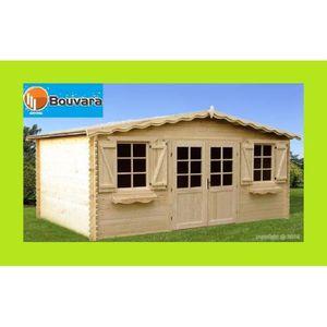 abris de jardin en bois 34 mm achat vente abris de jardin en bois 34 mm pas cher cdiscount. Black Bedroom Furniture Sets. Home Design Ideas