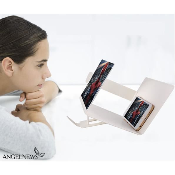 3d agrandisseurs d 39 cran de t l phone blanc achat for Photo ecran telephone