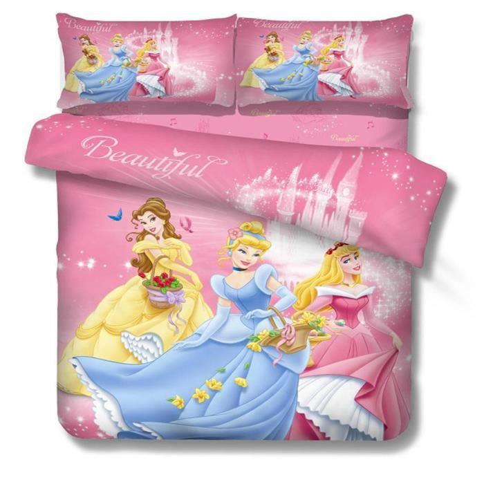 l m barbie princesse enfant parure de couette parure de. Black Bedroom Furniture Sets. Home Design Ideas