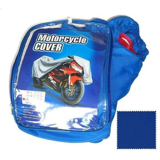 Housse bache de protection moto scooter ext rieur for Bache moto exterieur