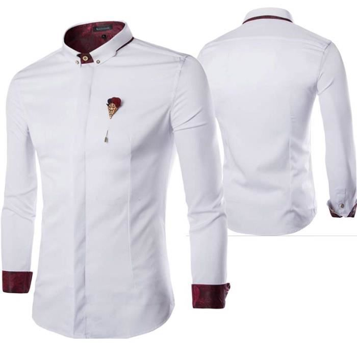 taille 40 homme chemise
