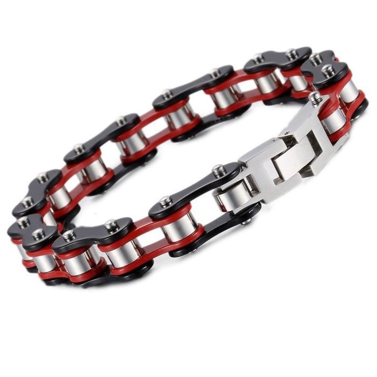 bracelet moto chaine. Black Bedroom Furniture Sets. Home Design Ideas