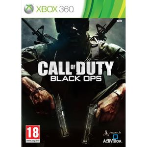 JEUX XBOX Call Of Duty Black Ops Jeu XBOX 360