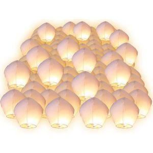 LANTERNE FANTAISIE Lot de 100 Lanternes volantes celeste chinoise tha