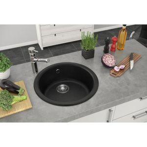 vier de cuisine rond encastrer mirade 1 cuve achat vente evier de cuisine vier de. Black Bedroom Furniture Sets. Home Design Ideas