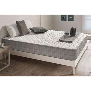 lit double sommier matelas achat vente lit double sommier matelas pas cher cdiscount. Black Bedroom Furniture Sets. Home Design Ideas