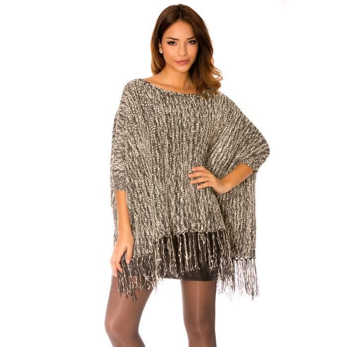 pull poncho femme poncho pull cape laine alpaga elodie femme. Black Bedroom Furniture Sets. Home Design Ideas